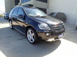 2011 Mercedes-Benz M-Class W164 MY11 ML300 CDI BlueEFFICIENCY AMG Sports Black Magic 7 Speed Wangara Wanneroo Area Preview