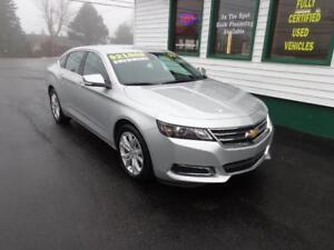 2017 Chevrolet Impala LT for only $179 bi-weekly all in!