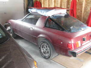 79 Mazda RX7 body with new parts
