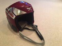 Ski helmet - child's dark red - Dakine Carrera