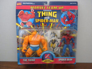 vintage Thing and Spiderman action figures IN PACKAGE! Kitchener / Waterloo Kitchener Area image 1