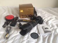 Nikon D300s body with Nikon AF-S 70-200mm F/2.8 G ED VR Lens