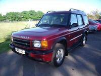 LAND ROVER DISCOVERY TD5 GS 7STR, Red, Auto, Diesel, 1999