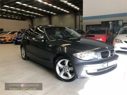 2008 BMW 120i E87 MY07 Grey Automatic Hatchback Laverton North Wyndham Area Preview