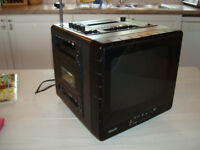PHILLIPS COMBI COLLECTIBLE TV, RADIO, TAPE DECK
