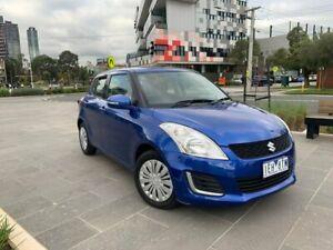 2015 Suzuki Swift FZ MY15 GL Blue 4 Speed Automatic Hatchback South Melbourne Port Phillip Preview