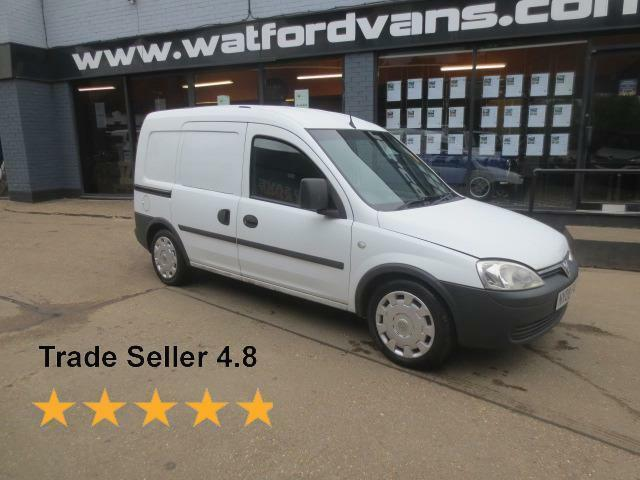 2008 Vauxhall Combo 2000 1.3CDTi 75ps CREW VAN *No VAT* Diesel white Manual