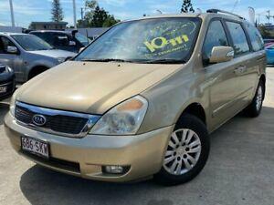 2010 Kia Grand Carnival VQ MY11 SI Gold 6 Speed Sports Automatic Wagon Greenslopes Brisbane South West Preview
