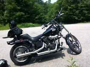 HARLEY DAVIDSON SOFTAIL NIGHT TRAIN BEAUCOUP D'OPTION A VOIR****