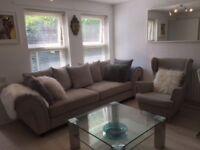 Beautiful Large 4 Seater Sofa & Armchair £400