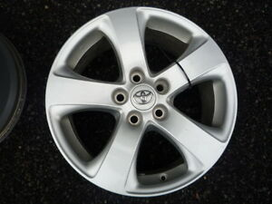 """4 mags toyota 17"""" oem"""