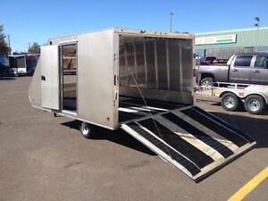 """New 2017 High Country 101"""" x 12' Crossover Deluxe Trailer"""