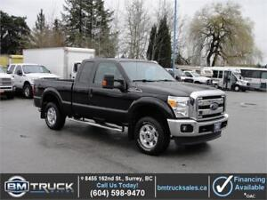 2015 FORD F-250 SUPER DUTY XLT EXTENDED CAB SHORT BOX 4X4