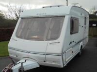 2003 Swift Challenger 480SE Caravan For Sale. End Washroom. Motormover