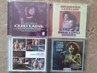 A collection of CDs by Cleo Laine (& John Dankworth)