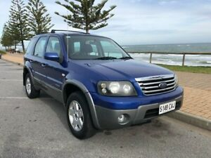 2007 Ford Escape ZC XLT Blue 4 Speed Automatic Wagon Christies Beach Morphett Vale Area Preview