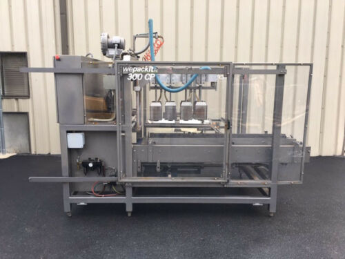 Wepackit Model 300-CP-HD Automatic Case or Tray Packer, Vacuum Pick and Place