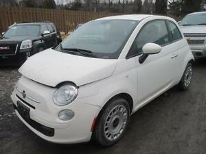 2012 FIAT 500 Pop **BRANDED SALVAGE**HAVE MOST PARTS TO FIX CAR*