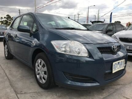 2009 Toyota Corolla ZRE152R MY10 Ascent Blue 6 Speed Manual Hatchback Maidstone Maribyrnong Area Preview