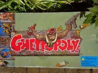 GHETTOPOLY RARE STOLEN PROPERTY FENCING GAME