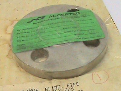 34 Flanged Blind Flange Stainless Steel 304l 150 Nos