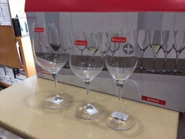 SPIEGELAU - 223238 - Confezione 12 Bicchieri per Vino Rosso, Bianco e Champagne