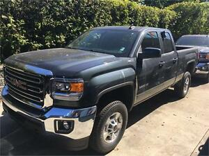 NEW 2017 GMC Sierra 2500HD SLE double cab 4x4 SLE Navigation