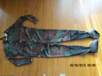 large youth Army/Camo costume