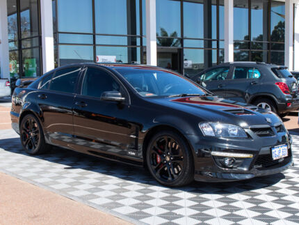 2009 Holden Special Vehicles Clubsport E Series 2 R8 Black 6 Speed Sports Automatic Sedan Alfred Cove Melville Area Preview