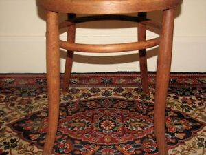 Antique Bentwood Bistro Chair, Woven Cane Seat, Cafe-Style Kitchener / Waterloo Kitchener Area image 6