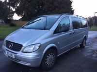 Mercedes-Benz Vito 2.1 111CDI Traveliner Extra Long Bus 5dr (9 Seats) FOR SALE, Excellent Condition,