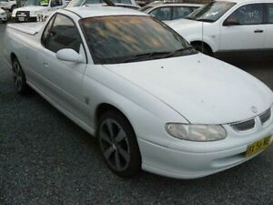 2003 Holden Ute S S PACK AUTO White Wauchope Port Macquarie City Preview