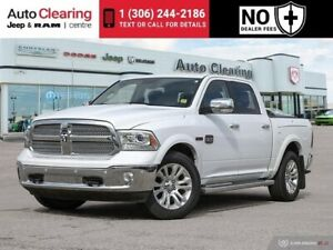 2015 Ram 1500 Eco Diesel 4WD with Navigation & Leather Interior