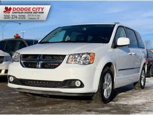 2017 Dodge Grand Caravan Crew Plus | Htd.Leather, BTooth, SXM