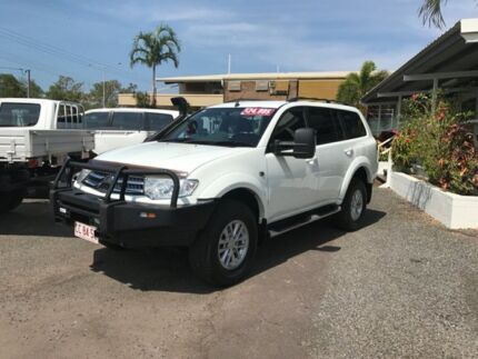 2013 Mitsubishi Challenger LS 4X4 White 1 Speed Constant Variable Wagon Winnellie Darwin City Preview