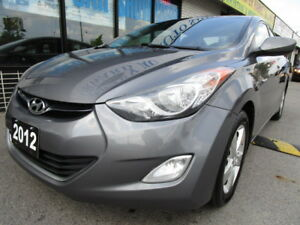 2012 Hyundai Elantra Sedan CERTIFIED,NO ACCIDENT,WARRANTY,CLEAN