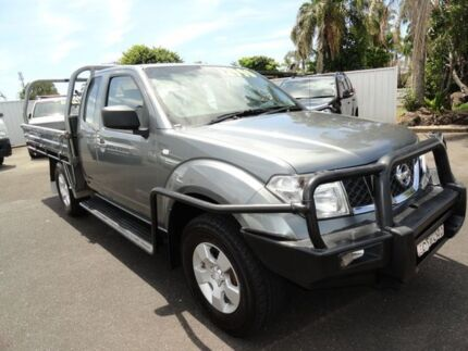 2009 Nissan Navara D40 RX King Cab Graphite 6 Speed Manual Cab Chassis West Ballina Ballina Area Preview