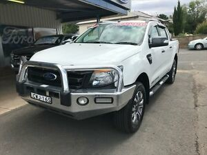 2015 Ford Ranger PX Wildtrak 3.2 (4x4) White 6 Speed Automatic Crewcab Young Young Area Preview