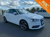 2015 Audi A3 1.6 TDI SE Technik 3 Door **Finance & Warranty** (golf,leon,1series)