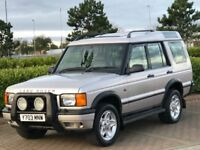 LAND ROVER DISCOVERY 2.5 TD5 ES 5d AUTO 136 BHP (silver) 2001