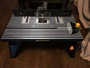 Mastercraft router table. Never used