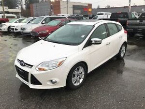 2012 Ford Focus SEL with Moonroof and Leather