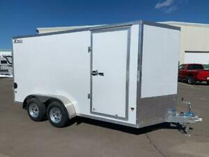 NEW 2019 XPRESS 7' x 14' ALUMINUM ENCLOSED TRAILER