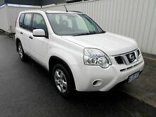 2010 Nissan X-Trail T31 MY10 ST (4x4) White 6 Speed CVT Auto Sequential Wagon South Burnie Burnie Area Preview