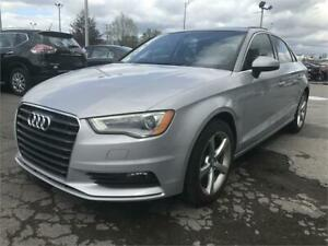 2015 Audi A3 1.8T Komfort *59,000KM* TOIT PANORAMIQUE CUIR MAGS