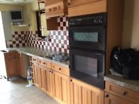 Kitchen units and appliances for sale, good condition ready now
