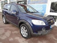 Chevrolet Captiva 2.0CDTi 7 seater auto LTX 2 former keepers P/X swap