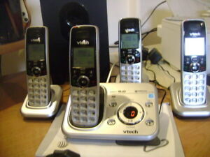 "COMPLETE CORDLESS  ""Home Phone System."""