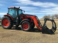 Kubota M6-131 Tractor and M57SS Loader Brandon Brandon Area Preview