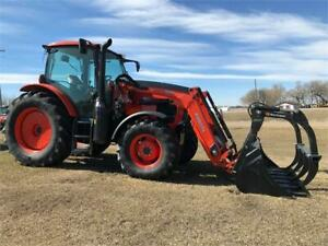Kubota M6-131 Tractor and M57SS Loader